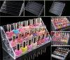 Stand acrylique en plastique clair d'étage d'étalage de vernis à ongles