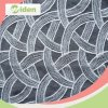 Ткань шнурка изготовления Китая изготовленный на заказ Nylon мягкая сетчатая