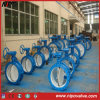 API 6D Flanged Double Eccentric Center Butterfly Valve