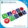Etiquetas engomadas reutilizables modificadas para requisitos particulares de RFID Nfc