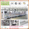 Centro de máquina Drilling de trituração do CNC do perfil de alumínio, centro de máquina da parede de cortina 5axis,