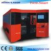 Máquina de estaca do laser da fibra de Ipg/Raycus 1000W com cerco e pálete da troca