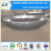 皿に盛られるステンレス鋼はタンクのために楕円形ヘッドの先頭に立つ