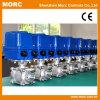 Actuadores eléctricos rotatorios de la válvula de control del pequeño esfuerzo de torsión