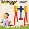 Brinquedo colorido dos blocos de apartamentos para brinquedos do bloco de apartamentos das crianças das crianças
