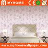 Floral romantique Wallpaper avec PVC Vinyl