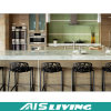 Mobília do gabinete de cozinha do painel de partículas do MDF para o apartamento (AIS-K434)