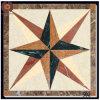 Alto Selling Composite Marble con Porcelain Floor Tile (502)