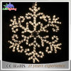 Indicatore luminoso della corda del fiocco di neve di Falshing di natale della decorazione LED di Party&Wedding