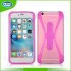 Touch U KickstandのiPhone 6sのための機能Universal Silicon Bumper Phone Case