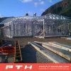 Casa de acero ligera prefabricada del chalet para el edificio modular del hotel