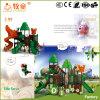 Do tema animal da selva de Guangzhou campo de jogos ao ar livre de Plstic para miúdos