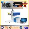 30W Máquina de marcação CNC Marcador a laser de CO2 para plástico / Botão / Couro