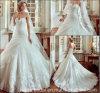 Schatz-Brautkleid-geschwollene Tulle-Spitze-kundenspezifische Hochzeits-Kleider Y1011