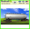 Carros de tanque internos Railway do aço inoxidável de /304L do vagão de tanque do ácido sulfúrico