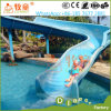 Promoção que vende a corrediça espiral estimulada do parque da água