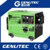 conjunto de generador diesel silencioso de potencia 5kVA con el ATS