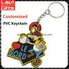 卸売が付いている美しい習慣PVC Keychain