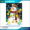 Jarda feliz Bannner do jardim da bandeira do Natal do boneco de neve (M-NF06F11027)