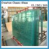 vidro temperado desobstruído do vidro da construção do vidro Tempered de 4mm