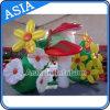 Decoración inflable de la flor de la venta LED de la fábrica para hacer publicidad