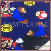 Mario 패턴 인쇄 100d 마이크로 양털 Softshell 직물