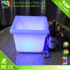 Colorear el crisol de flor plástico impermeable del cuadrado LED de Changingled que brilla intensamente