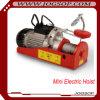 Élévateur électrique de câble métallique petit mini avec le chariot