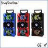 Altofalante de madeira portátil de Bluetooth com karaoke do USB FM do SD (XH-PS-712)