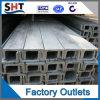 Calha de aço inoxidável laminada a alta temperatura do comprimento de Ss304 6m