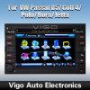 6.2  Vw (VVW6286)のためのHD車DVDシステム自動ラジオGPS土曜日Navi