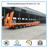 3 de Verlengbare Lowbed Aanhangwagen van assen, de Aanhangwagen van de Vrachtwagen van de Apparatuur