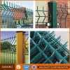 Painéis soldados galvanizados revestidos PVC da cerca do engranzamento de fio