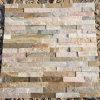Panneaux de mur en pierre empilés par granit noir (SMC-SCP489)