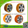 Aluminiumkern-Polyurethan-Fußrollen-Rad