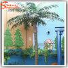 庭の装飾のプラスチック人工的な屋外のココヤシの木の木