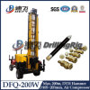 200m DepthのためのDfq-200W Portable Water Well Drill Rigs