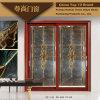 Алюминиевая дверь с золотистым цветом Teak (Z-026)