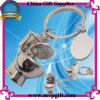 Trousseau de clés en métal de cadeau de promotion des ventes pour la toilette