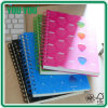 Bulk barato PP Cover Spiral Notebook para School Supply