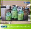 Housewares 3PCS de Groene Kruik van het Glas die met het Luchtdichte Deksel van het Glas wordt geplaatst