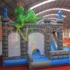 Aufblasbares Dinosaur Trampoline mit Slide