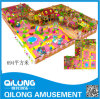 Paintabll Playground Equipment con Children (QL-150512C)