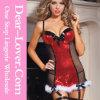 Повелительница Sequin Сексуальный Рождество Женское бельё 2016 способов