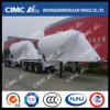 Cimc Huajunの縦の大きさPowder/Cementのトレインのタンカー