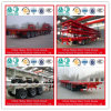 최신 판매 3 차축 트럭 트레일러 평상형 트레일러 트레일러