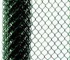 Pvc het Met een laag bedekte Opleveren van de Omheining van de Link van de Keten van het Netwerk van de Draad van het Ijzer (anjia-175)