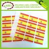 Bandera de España autoadhesivos etiqueta autoadhesiva