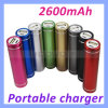 Charger portatile per la Banca di iPhone 5 5s 5c Samsung Mobile Phones 2600mAh Power