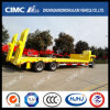 Cimc Huajun 3axle Lowbed Drawbar/Full Trailer